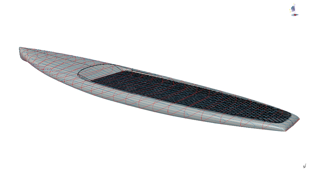 SUP RACE Board (Stand Up Paddle Surf) | BYD Group Yacht Design